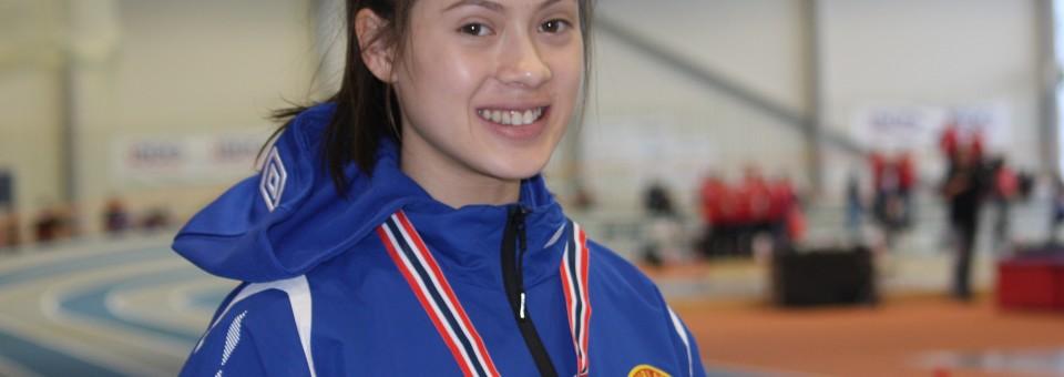 Tok  sølvmedalje  i  UM  i  Steinkjer